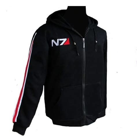 Hoodie Zipper Rpg Mass Effect N7 4 buy wholesale mass effect from china mass effect wholesalers aliexpress