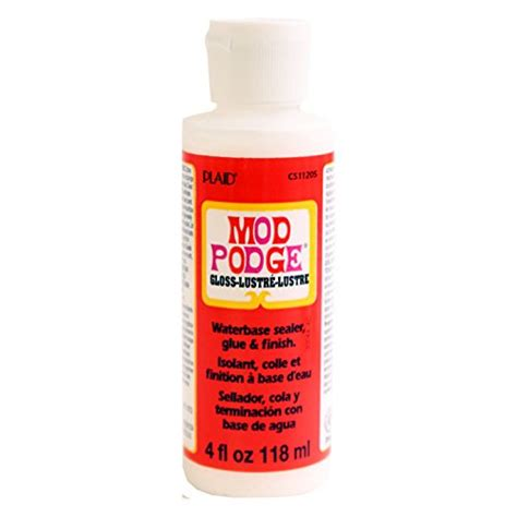 Decoupage Waterproof Sealer - mod podge coat all in one decoupage sealer glue