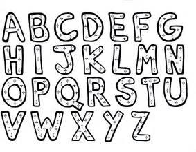 Preschool coloring pages alphabet az coloring pages