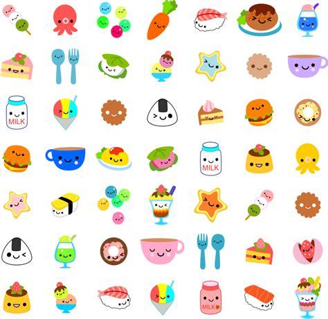imagenes de comida con caritas kawaii kawaii fondos de pantalla pinterest diy adornos