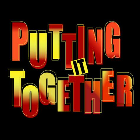 Putting It Together by Sooner Or Later Musicaltheatrebackingtracks Co Uk