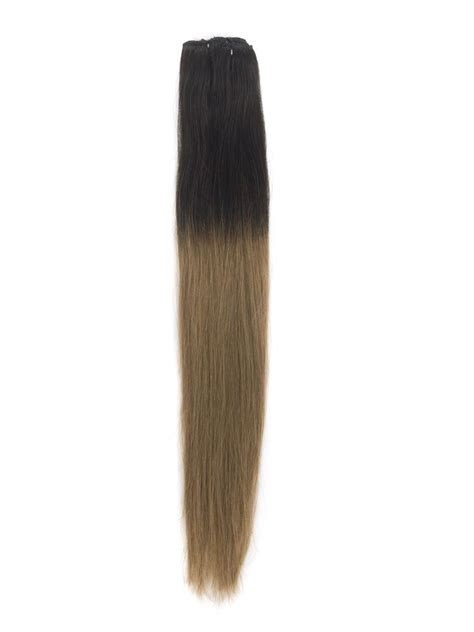 ombre 22inch hair extentions 22 inch popular ombre clip in hair extensions two tone