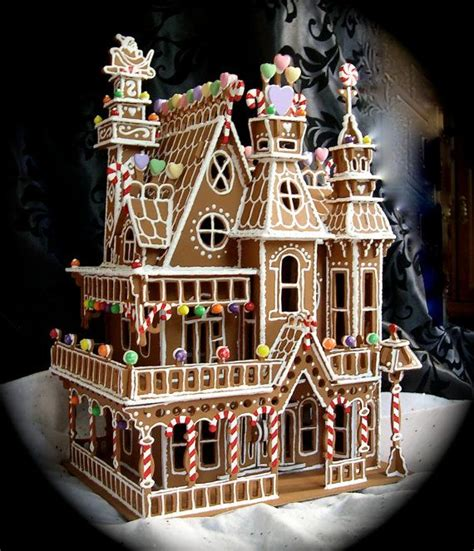 victorian gingerbread house faux gingerbread house in the queen anne style