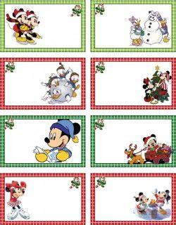 mickey christmas tags mickey mouse gift tags  printable disney printables pinterest