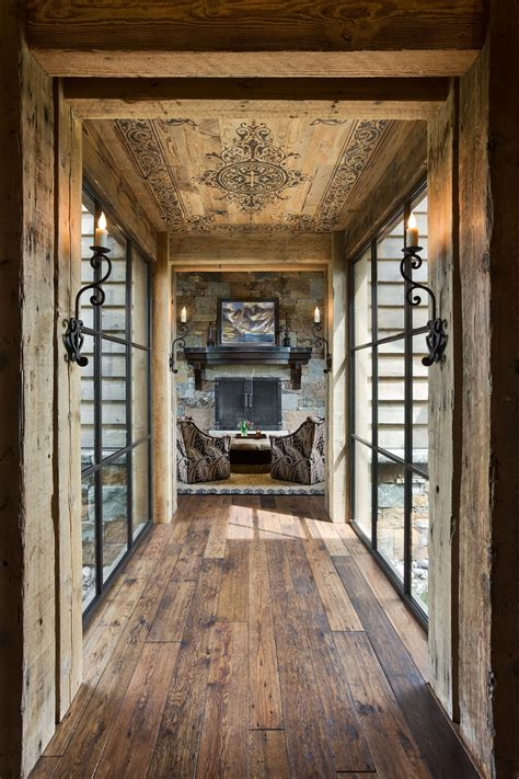 rustic home interior ideas 15 great rustic hallway designs that will inspire you with