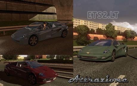Saints Row 3 Auto Tuning by Attrazione Auto In Traffic Ets 2 Mods