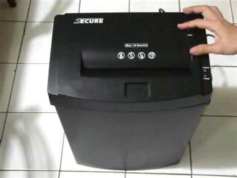 Mesin Penghancur Kertas Paper Sheder Secure Ezsc 10a Cross Cut mesin penghancur kertas paper shredder secure ezsc 10a