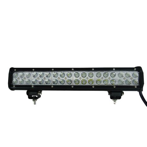 Trucks With Led Light Bars 108w 24 High Power Cree Led Work Light Bar 17 Inches Led
