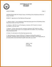 Us Army Memorandum For Record Template by Memorandum For Record Army Template Best Template