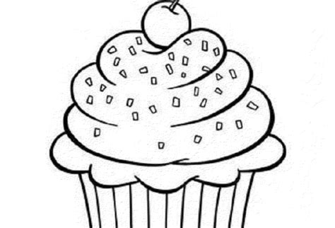 coloring pages cupcakes print cupcake coloring pages bestofcoloring com