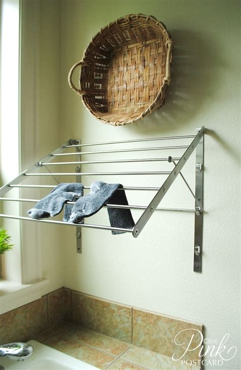 laundry room clothes hanger superb wall mounted drying rack in laundry room farmhouse with clothes hanger next to laundry