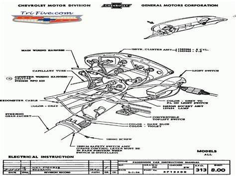 55 chevy backup light wiring diagram wiring forums
