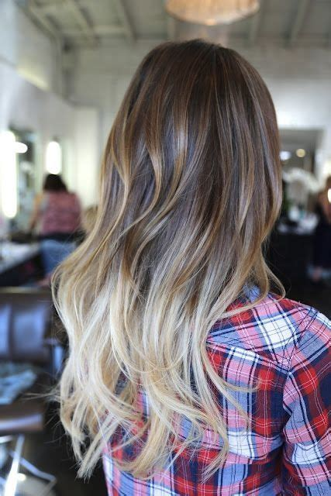 ambray hair puntas californianas californian pinterest