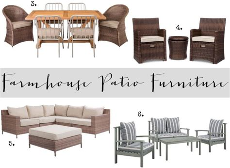 Farmhouse Patio Furniture by Farmhouse Patio Furniture Finds House Of Hargrove