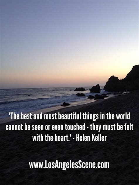 quotes about los angeles inspirational quote helen kellerlos angeles find