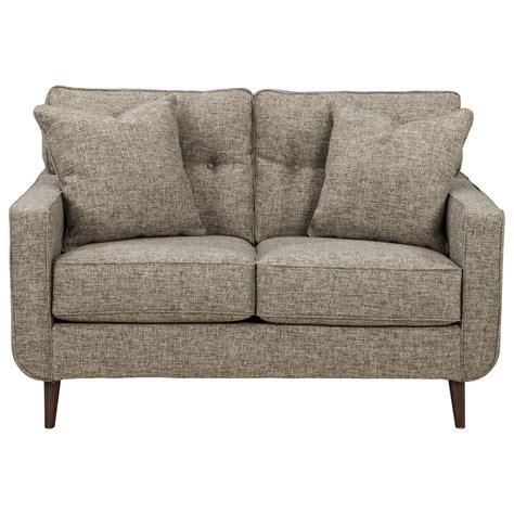 Micheals Furniture by Benchcraft Dahra Mid Century Modern Loveseat Michael S