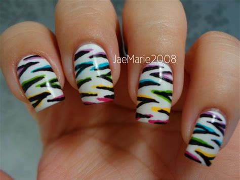 tiger pattern nail art double tiger print nail design nail art gallery