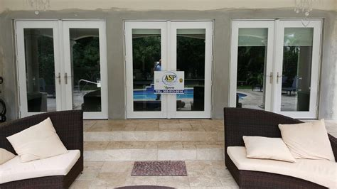 Impact Glass Doors Miami Impact Doors Photo Gallery Hurricane Resistant Patio Doors Impact Windows Custom Entry Doors