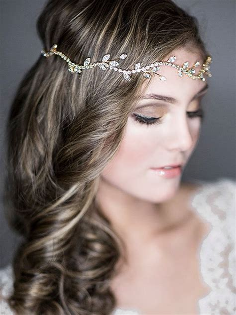 Wedding Hair Accessories Chagne by Bridals Hair Accessories In Vintage Classic Style
