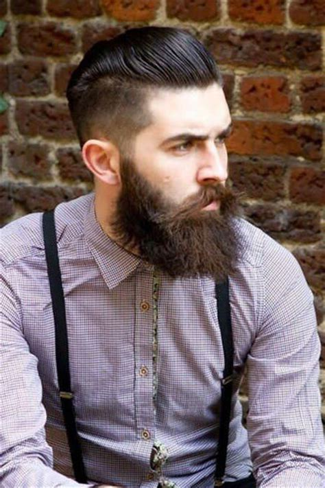 slick back hair shaved sides hair trends for men at voodou liverpool