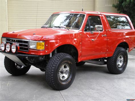 1996 Ford Bronco 2008 Off Road Expo Picture Supermotors Net