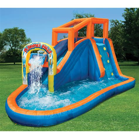 best backyard water slides best ideas of inflatable water slides about backyard water