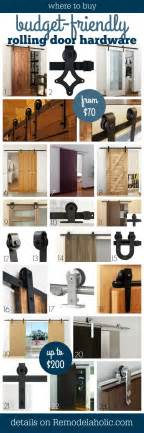 Where To Buy A Barn Door Remodelaholic 35 Diy Barn Doors Rolling Door Hardware Ideas