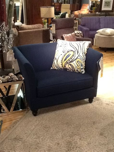 Navy Blue Chair And A Half Pin By Thousand Islands Lifestyle On Gananoque Home