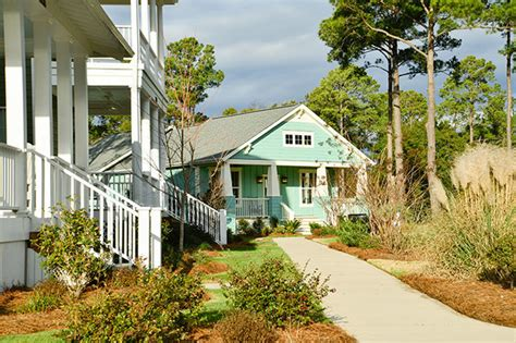 front porches at the cottages at isle nc