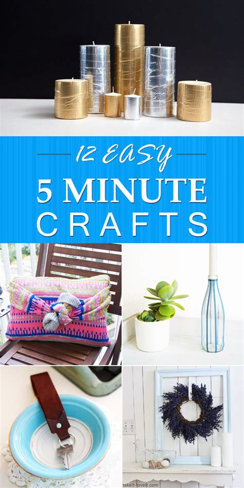 5 minute crafts for 12 easy 5 minute crafts that anyone can do