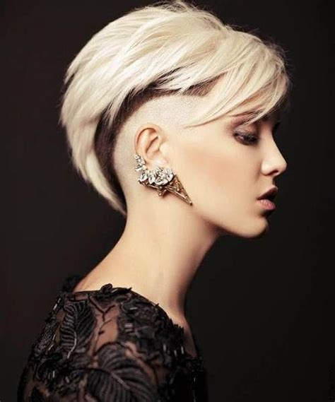 show me womens hairstyles shaved hairstyles for women show your masculine side