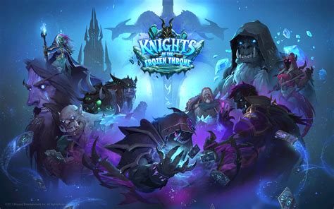 frozen throne wallpaper hd hearthstone heroes of warcraft knights of the frozen