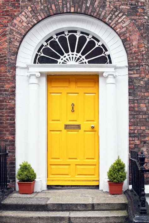 Yellow Front Door Meaning 8 Colors You T Considered For Your Front Door But Tota