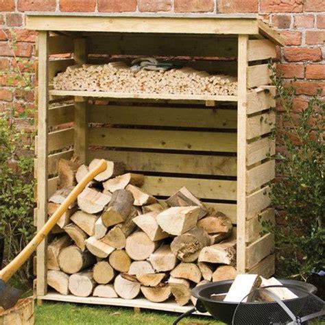 excellent diy outdoor firewood storage ideas home