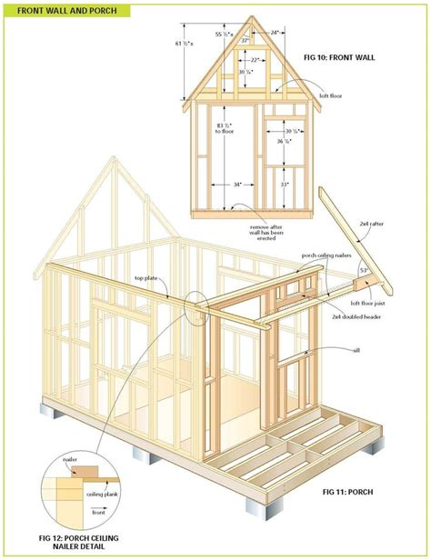 free wood shed plans woodworking projects plans