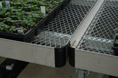 metal greenhouse benches greenhouse benches greenhouse bench westbrook greenhouse systems