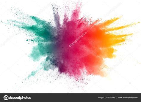 color powder explosion explosion poussi 232 res couleur abstraite sur une poudre