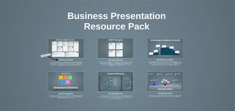 business free presentation template prezibase