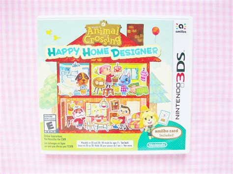 animal crossing home design games mooeyandfriends animal crossing happy home designer game review