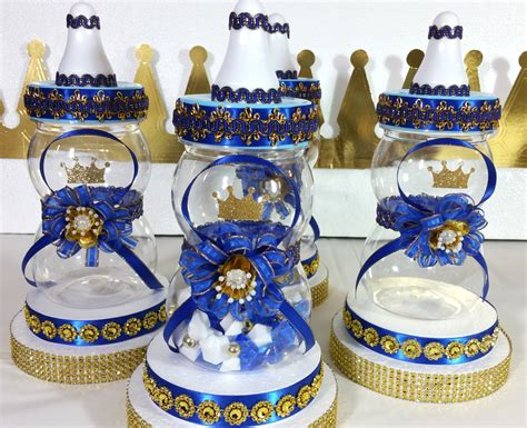 Royal Prince Baby Shower Centerpiece Boys Royal Blue And Royal Baby Shower Centerpieces