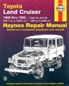 Toyota Landcruiser Petrol Fj Series Repair Manual 1968