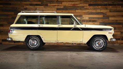 1970 jeep wagoneer interior all american classic cars 1970 jeep wagoneer sj 4wd 4