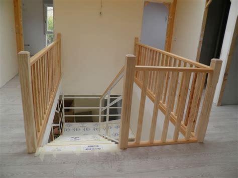 como hacer una barandilla de madera el peku la barandilla de la escalera