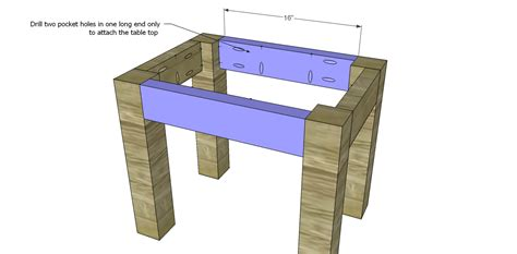 how to build a side table how to build a side table