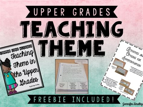 1000 images about reading theme on pinterest teaching teaching theme in the upper grades and a freebie