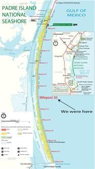 padre island national seashore rvseniormoments