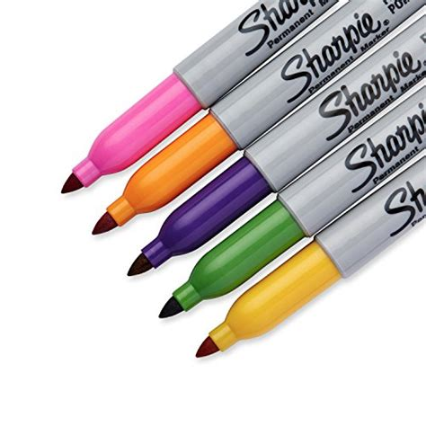 colored permanent markers sharpie point permanent markers 5 pack limited