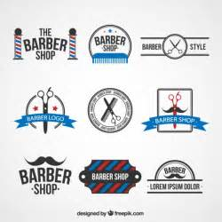 Free Logo Templates Vector by Barber Shop Logo Templates Vector Free