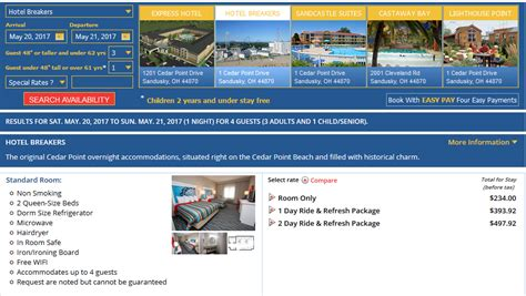 What Is Rack Rate by Cedar Point Exclusive Offer For Past Guests May June 2017