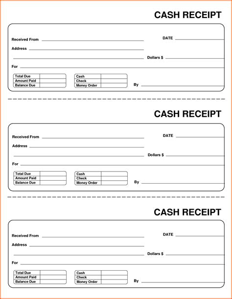 Received Receipt Template by Sle Payment Receipt Portablegasgrillweber